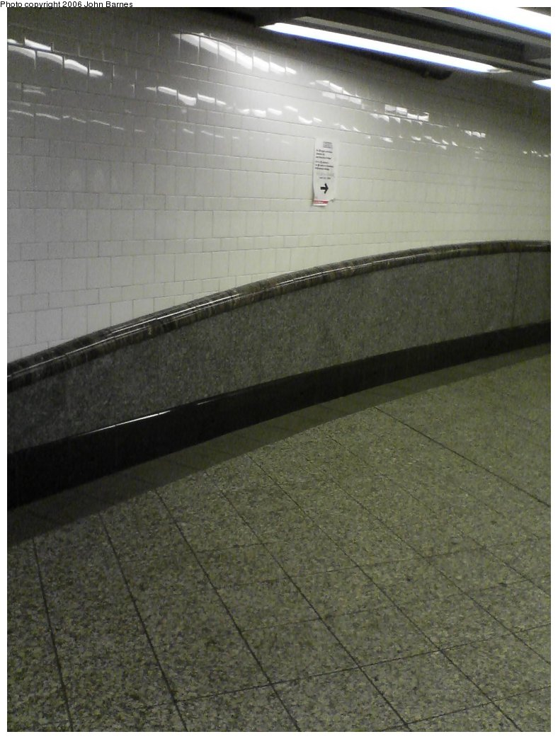 (140k, 788x1044)<br><b>Country:</b> United States<br><b>City:</b> New York<br><b>System:</b> New York City Transit<br><b>Line:</b> IRT Brooklyn Line<br><b>Location:</b> Atlantic Avenue<br><b>Photo by:</b> John Barnes<br><b>Date:</b> 7/9/2006<br><b>Artwork:</b> <i>Hook, Line, and Sinker</i>, George Trakas, 2004<br><b>Notes:</b> Hook portion.<br><b>Viewed (this week/total):</b> 0 / 3092