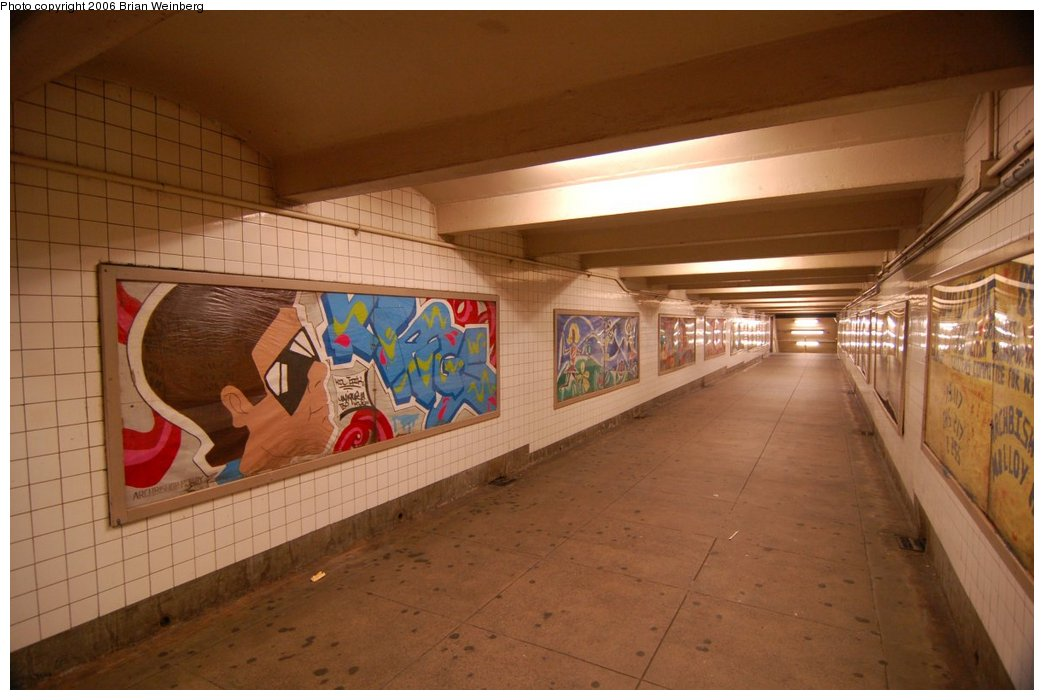 (186k, 1044x700)<br><b>Country:</b> United States<br><b>City:</b> New York<br><b>System:</b> New York City Transit<br><b>Line:</b> IND Queens Boulevard Line<br><b>Location:</b> Briarwood/Van Wyck Boulevard<br><b>Photo by:</b> Brian Weinberg<br><b>Date:</b> 7/16/2006<br><b>Artwork:</b> <i>Beautifying Briarwood</i>, Briarwood Students<br><b>Viewed (this week/total):</b> 3 / 4445