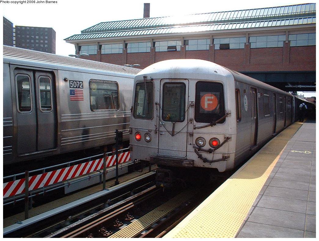 (207k, 1044x788)<br><b>Country:</b> United States<br><b>City:</b> New York<br><b>System:</b> New York City Transit<br><b>Location:</b> Coney Island/Stillwell Avenue<br><b>Route:</b> F<br><b>Car:</b> R-46 (Pullman-Standard, 1974-75) 5942 <br><b>Photo by:</b> John Barnes<br><b>Date:</b> 8/20/2006<br><b>Viewed (this week/total):</b> 1 / 3213