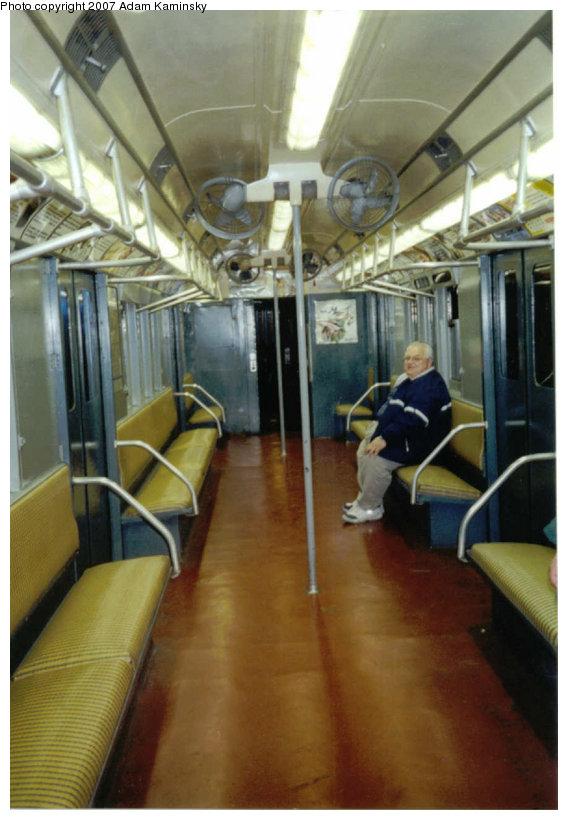 (105k, 568x820)<br><b>Country:</b> United States<br><b>City:</b> New York<br><b>System:</b> New York City Transit<br><b>Route:</b> Fan Trip<br><b>Car:</b> R-12 (American Car & Foundry, 1948) 5760 <br><b>Photo by:</b> Adam Kaminsky<br><b>Date:</b> 4/17/2004<br><b>Viewed (this week/total):</b> 0 / 1589