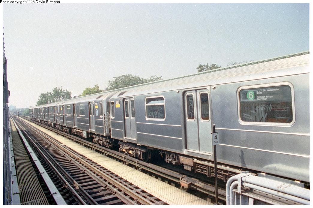 (199k, 1044x693)<br><b>Country:</b> United States<br><b>City:</b> New York<br><b>System:</b> New York City Transit<br><b>Line:</b> IRT Pelham Line<br><b>Location:</b> Westchester Square<br><b>Route:</b> 6<br><b>Car:</b> R-62A (Bombardier, 1984-1987) 1760 <br><b>Photo by:</b> David Pirmann<br><b>Date:</b> 9/13/1998<br><b>Viewed (this week/total):</b> 1 / 5094