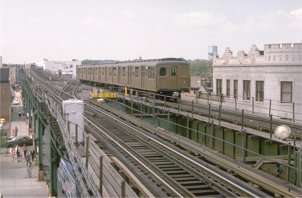 (203k, 1024x673)<br><b>Country:</b> United States<br><b>City:</b> New York<br><b>System:</b> New York City Transit<br><b>Line:</b> BMT Nassau Street-Jamaica Line<br><b>Location:</b> Queens Boulevard (Demolished)<br><b>Route:</b> Fan Trip<br><b>Car:</b> BMT A/B-Type Standard 2390 <br><b>Photo by:</b> Doug Grotjahn<br><b>Collection of:</b> Joe Testagrose<br><b>Date:</b> 9/10/1977<br><b>Viewed (this week/total):</b> 0 / 7748