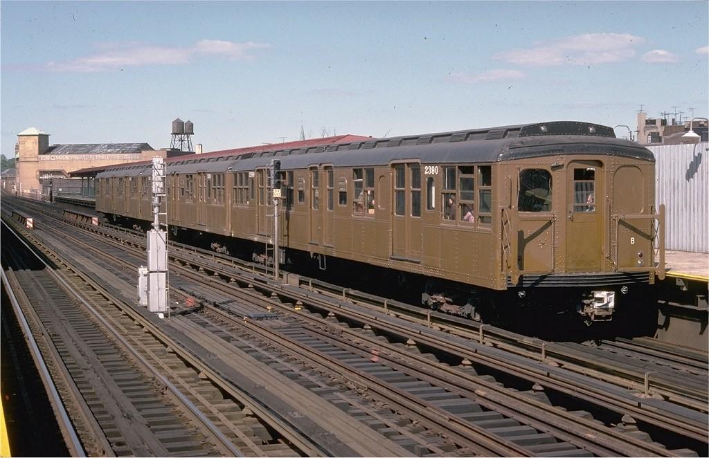 (204k, 1024x662)<br><b>Country:</b> United States<br><b>City:</b> New York<br><b>System:</b> New York City Transit<br><b>Line:</b> BMT West End Line<br><b>Location:</b> 50th Street<br><b>Route:</b> Fan Trip<br><b>Car:</b> BMT A/B-Type Standard 2390 <br><b>Collection of:</b> Joe Testagrose<br><b>Date:</b> 9/11/1977<br><b>Viewed (this week/total):</b> 1 / 3290