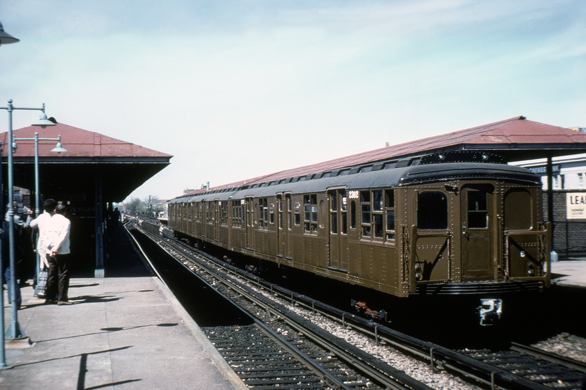 (394k, 1200x800)<br><b>Country:</b> United States<br><b>City:</b> New York<br><b>System:</b> New York City Transit<br><b>Line:</b> BMT Brighton Line<br><b>Location:</b> Kings Highway<br><b>Route:</b> Fan Trip<br><b>Car:</b> BMT A/B-Type Standard 2390 <br><b>Collection of:</b> David Pirmann<br><b>Date:</b> 5/21/1978<br><b>Viewed (this week/total):</b> 0 / 3370