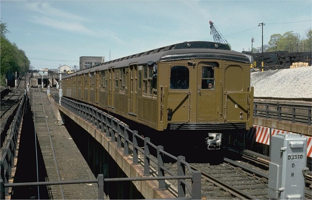 (212k, 1024x658)<br><b>Country:</b> United States<br><b>City:</b> New York<br><b>System:</b> New York City Transit<br><b>Line:</b> BMT West End Line<br><b>Location:</b> 9th Avenue<br><b>Route:</b> Fan Trip<br><b>Car:</b> BMT A/B-Type Standard 2392 <br><b>Photo by:</b> Joe Testagrose<br><b>Date:</b> 4/16/1977<br><b>Viewed (this week/total):</b> 2 / 3515