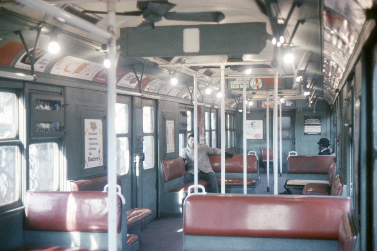 (397k, 1200x800)<br><b>Country:</b> United States<br><b>City:</b> New York<br><b>System:</b> New York City Transit<br><b>Car:</b> BMT A/B-Type Standard 2540 <br><b>Collection of:</b> David Pirmann<br><b>Date:</b> 12/19/1964<br><b>Viewed (this week/total):</b> 9 / 18779