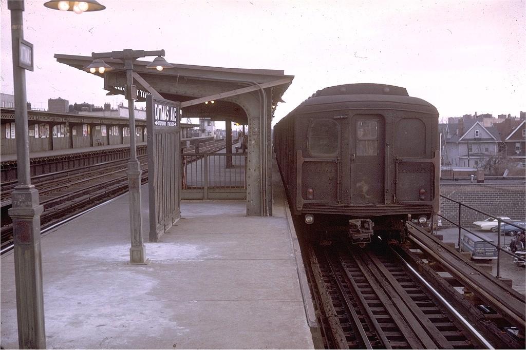 (213k, 1024x682)<br><b>Country:</b> United States<br><b>City:</b> New York<br><b>System:</b> New York City Transit<br><b>Line:</b> BMT Culver Line<br><b>Location:</b> Ditmas Avenue-Shuttle<br><b>Route:</b> SS<br><b>Car:</b> BMT A/B-Type Standard  <br><b>Photo by:</b> Doug Grotjahn<br><b>Collection of:</b> Joe Testagrose<br><b>Date:</b> 3/22/1969<br><b>Viewed (this week/total):</b> 0 / 4127