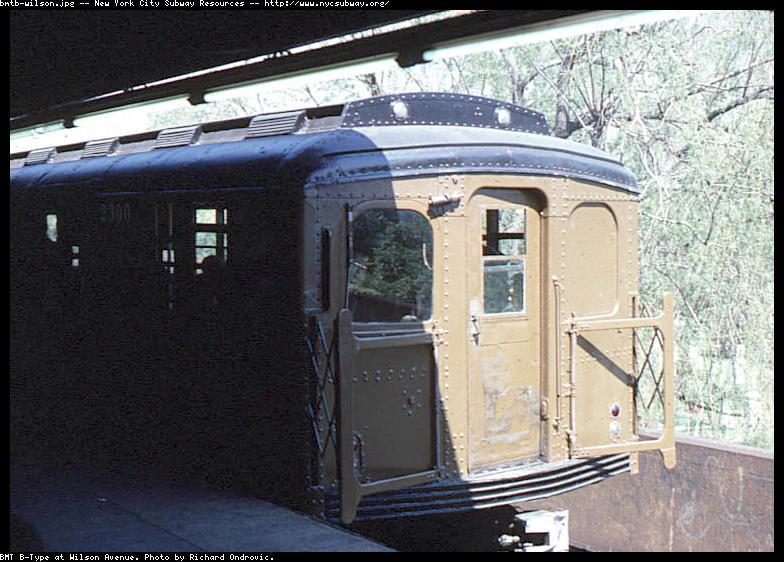 (98k, 784x562)<br><b>Country:</b> United States<br><b>City:</b> New York<br><b>System:</b> New York City Transit<br><b>Line:</b> BMT Canarsie Line<br><b>Location:</b> Wilson Avenue<br><b>Route:</b> L<br><b>Car:</b> BMT A/B-Type Standard 2390 <br><b>Photo by:</b> Richard Ondrovic<br><b>Viewed (this week/total):</b> 1 / 3964