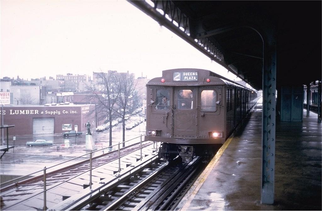(175k, 1024x673)<br><b>Country:</b> United States<br><b>City:</b> New York<br><b>System:</b> New York City Transit<br><b>Line:</b> BMT Astoria Line<br><b>Location:</b> Astoria Boulevard/Hoyt Avenue<br><b>Route:</b> Fan Trip<br><b>Car:</b> BMT D-Type Triplex 6095 <br><b>Photo by:</b> Steve Zabel<br><b>Collection of:</b> Joe Testagrose<br><b>Date:</b> 12/9/1973<br><b>Viewed (this week/total):</b> 0 / 5735