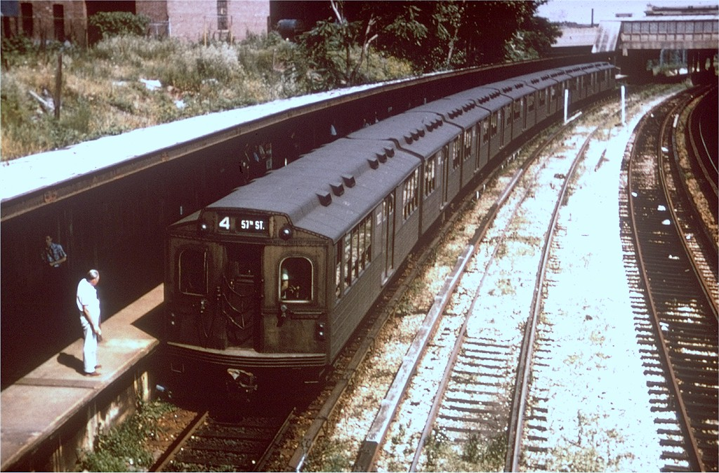 (234k, 1024x674)<br><b>Country:</b> United States<br><b>City:</b> New York<br><b>System:</b> New York City Transit<br><b>Line:</b> BMT Sea Beach Line<br><b>Location:</b> 8th Avenue<br><b>Route:</b> Fan Trip<br><b>Car:</b> BMT Multisection 7022 <br><b>Collection of:</b> Joe Testagrose<br><b>Date:</b> 7/22/1961<br><b>Viewed (this week/total):</b> 0 / 4339
