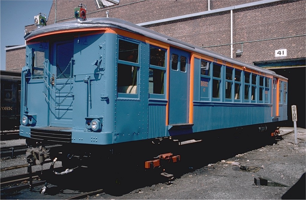 (231k, 1024x672)<br><b>Country:</b> United States<br><b>City:</b> New York<br><b>System:</b> New York City Transit<br><b>Location:</b> Coney Island Yard-Museum Yard<br><b>Car:</b> BMT Q 1612C <br><b>Photo by:</b> Steve Zabel<br><b>Collection of:</b> Joe Testagrose<br><b>Date:</b> 4/18/1978<br><b>Viewed (this week/total):</b> 0 / 3278