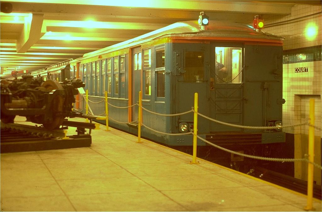 (177k, 1024x675)<br><b>Country:</b> United States<br><b>City:</b> New York<br><b>System:</b> New York City Transit<br><b>Location:</b> New York Transit Museum<br><b>Car:</b> BMT Q 1612C <br><b>Photo by:</b> Steve Zabel<br><b>Collection of:</b> Joe Testagrose<br><b>Date:</b> 4/18/1978<br><b>Viewed (this week/total):</b> 0 / 5701