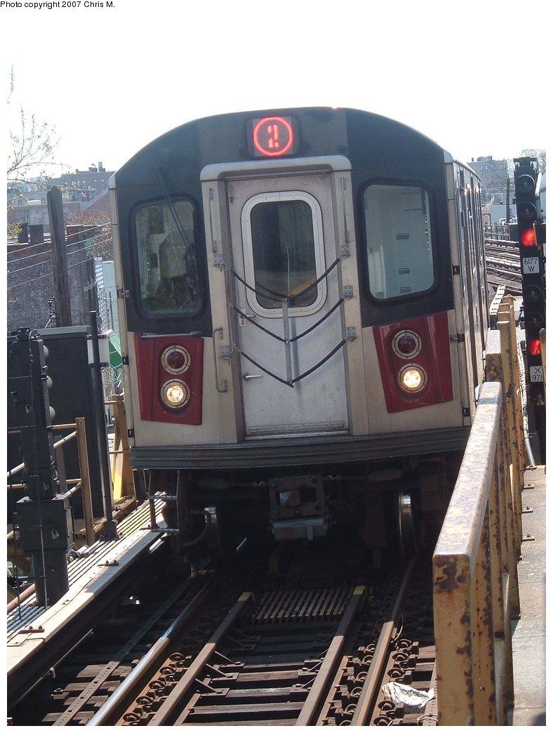 (161k, 788x1044)<br><b>Country:</b> United States<br><b>City:</b> New York<br><b>System:</b> New York City Transit<br><b>Line:</b> IRT White Plains Road Line<br><b>Location:</b> 241st Street<br><b>Route:</b> 2<br><b>Car:</b> R-142 or R-142A (Number Unknown)  <br><b>Photo by:</b> Chris M.<br><b>Date:</b> 5/1/2005<br><b>Viewed (this week/total):</b> 1 / 3816