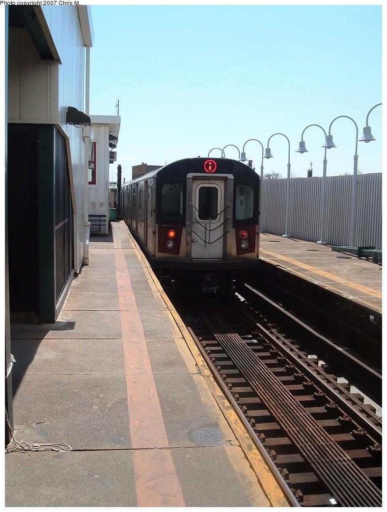 (169k, 788x1044)<br><b>Country:</b> United States<br><b>City:</b> New York<br><b>System:</b> New York City Transit<br><b>Line:</b> IRT White Plains Road Line<br><b>Location:</b> 241st Street<br><b>Route:</b> 2<br><b>Car:</b> R-142 or R-142A (Number Unknown)  <br><b>Photo by:</b> Chris M.<br><b>Date:</b> 5/1/2005<br><b>Viewed (this week/total):</b> 1 / 3353