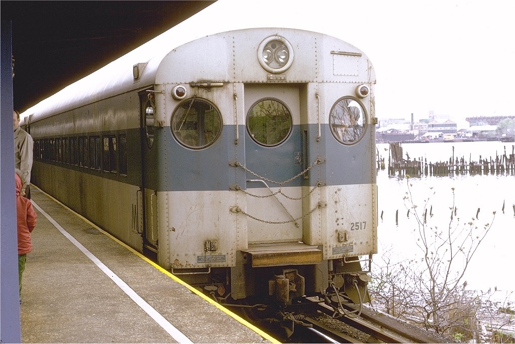(224k, 1024x684)<br><b>Country:</b> United States<br><b>City:</b> New York<br><b>System:</b> New York City Transit<br><b>Line:</b> SIRT<br><b>Location:</b> Tottenville<br><b>Route:</b> Fan Trip<br><b>Car:</b> LIRR MP72 2517 <br><b>Photo by:</b> Joe Testagrose<br><b>Date:</b> 4/28/1973<br><b>Viewed (this week/total):</b> 3 / 3745