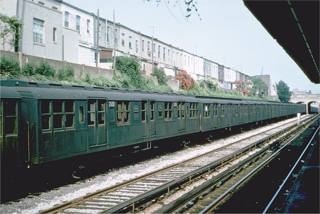 (229k, 1024x686)<br><b>Country:</b> United States<br><b>City:</b> New York<br><b>System:</b> New York City Transit<br><b>Line:</b> BMT Sea Beach Line<br><b>Location:</b> 20th Avenue<br><b>Car:</b> BMT A/B-Type Standard 2408 <br><b>Photo by:</b> Doug Grotjahn<br><b>Collection of:</b> Joe Testagrose<br><b>Date:</b> 6/9/1968<br><b>Viewed (this week/total):</b> 0 / 2260