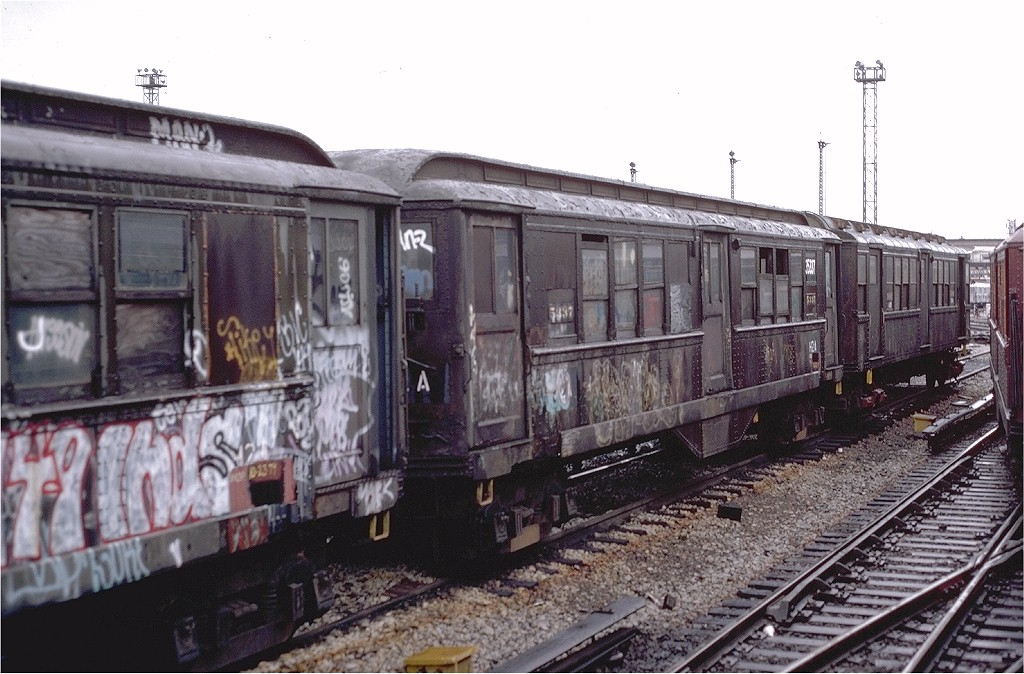 (203k, 1024x674)<br><b>Country:</b> United States<br><b>City:</b> New York<br><b>System:</b> New York City Transit<br><b>Location:</b> Westchester Yard<br><b>Car:</b> Low-V 35337 (ex-5337)<br><b>Collection of:</b> Joe Testagrose<br><b>Date:</b> 11/3/1979<br><b>Notes:</b> Work Motor 35337<br><b>Viewed (this week/total):</b> 0 / 4729