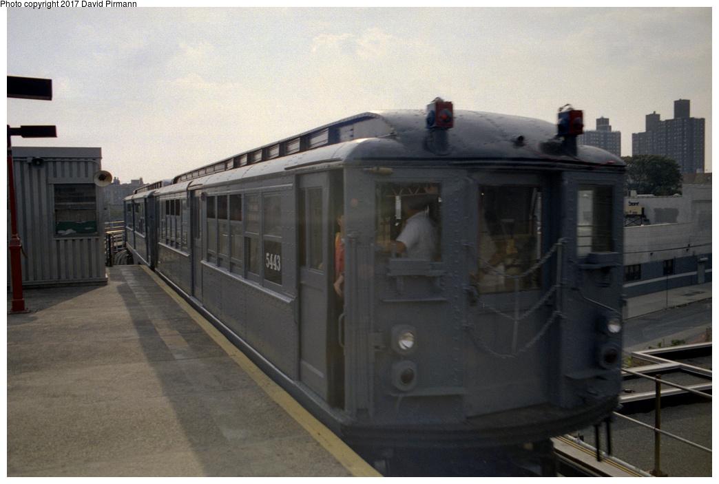 (331k, 1044x703)<br><b>Country:</b> United States<br><b>City:</b> New York<br><b>System:</b> New York City Transit<br><b>Line:</b> IRT White Plains Road Line<br><b>Location:</b> East 180th Street<br><b>Route:</b> Fan Trip<br><b>Car:</b> Low-V (Museum Train) 5443 <br><b>Photo by:</b> David Pirmann<br><b>Date:</b> 9/13/1998<br><b>Viewed (this week/total):</b> 3 / 3092