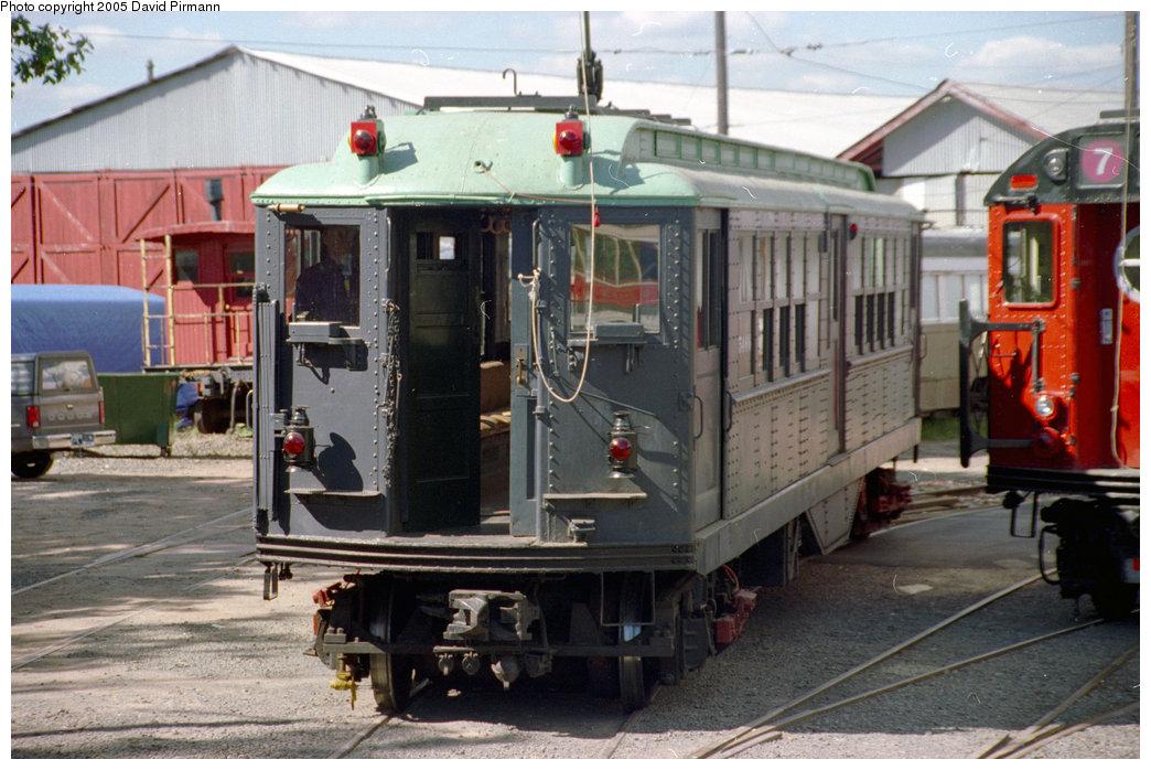 (210k, 1044x698)<br><b>Country:</b> United States<br><b>City:</b> East Haven/Branford, Ct.<br><b>System:</b> Shore Line Trolley Museum<br><b>Car:</b> Low-V (Museum Train) 5466 <br><b>Photo by:</b> David Pirmann<br><b>Date:</b> 10/5/1996<br><b>Viewed (this week/total):</b> 2 / 6532