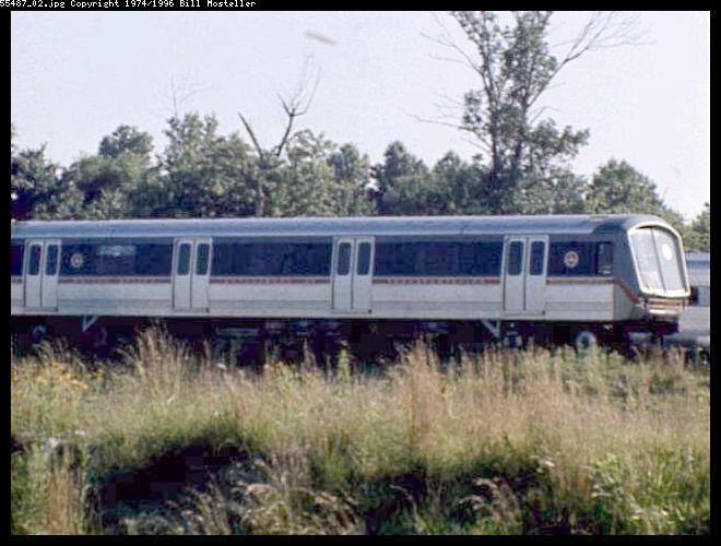 (64k, 660x500)<br><b>Country:</b> United States<br><b>City:</b> Philadelphia, PA<br><b>System:</b> PATCO<br><b>Location:</b> Lindenwold Yard<br><b>Car:</b> SOAC  <br><b>Photo by:</b> Bill Mosteller<br><b>Date:</b> 1977<br><b>Viewed (this week/total):</b> 4 / 10143