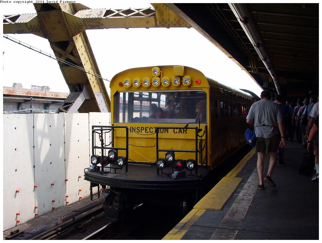 (119k, 1044x788)<br><b>Country:</b> United States<br><b>City:</b> New York<br><b>System:</b> New York City Transit<br><b>Line:</b> IND Crosstown Line<br><b>Location:</b> Smith/9th Street<br><b>Route:</b> Fan Trip<br><b>Car:</b> Observation Car 0F116 <br><b>Photo by:</b> David Pirmann<br><b>Date:</b> 8/27/2000<br><b>Viewed (this week/total):</b> 0 / 6320