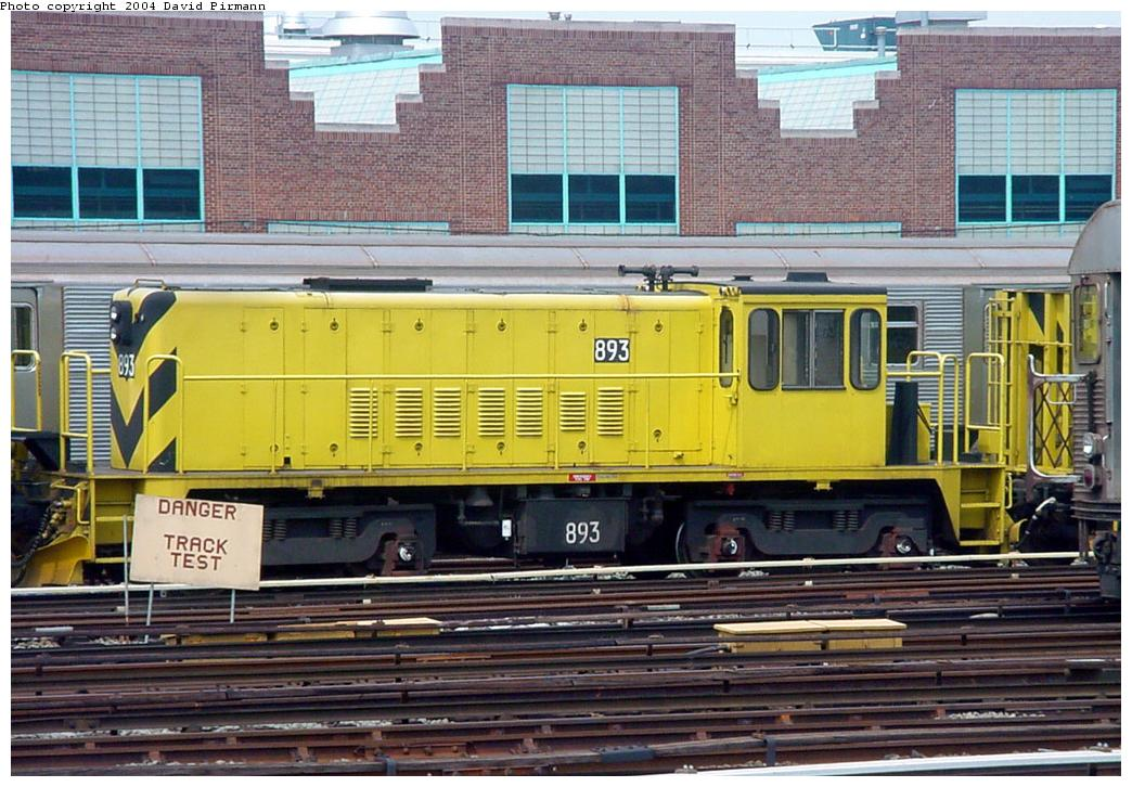 (153k, 1044x726)<br><b>Country:</b> United States<br><b>City:</b> New York<br><b>System:</b> New York City Transit<br><b>Location:</b> Jamaica Yard/Shops<br><b>Car:</b> R-77 Locomotive 893 <br><b>Photo by:</b> David Pirmann<br><b>Date:</b> 8/27/2000<br><b>Viewed (this week/total):</b> 1 / 3821
