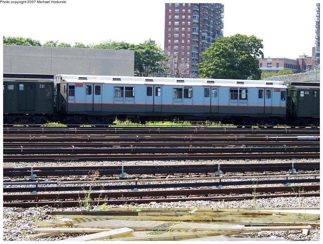 (290k, 1044x788)<br><b>Country:</b> United States<br><b>City:</b> New York<br><b>System:</b> New York City Transit<br><b>Location:</b> Coney Island Yard<br><b>Route:</b> Fan Trip<br><b>Car:</b> R-7A (Pullman, 1938) 1575 <br><b>Photo by:</b> Michael Hodurski<br><b>Date:</b> 8/12/2007<br><b>Viewed (this week/total):</b> 3 / 1908