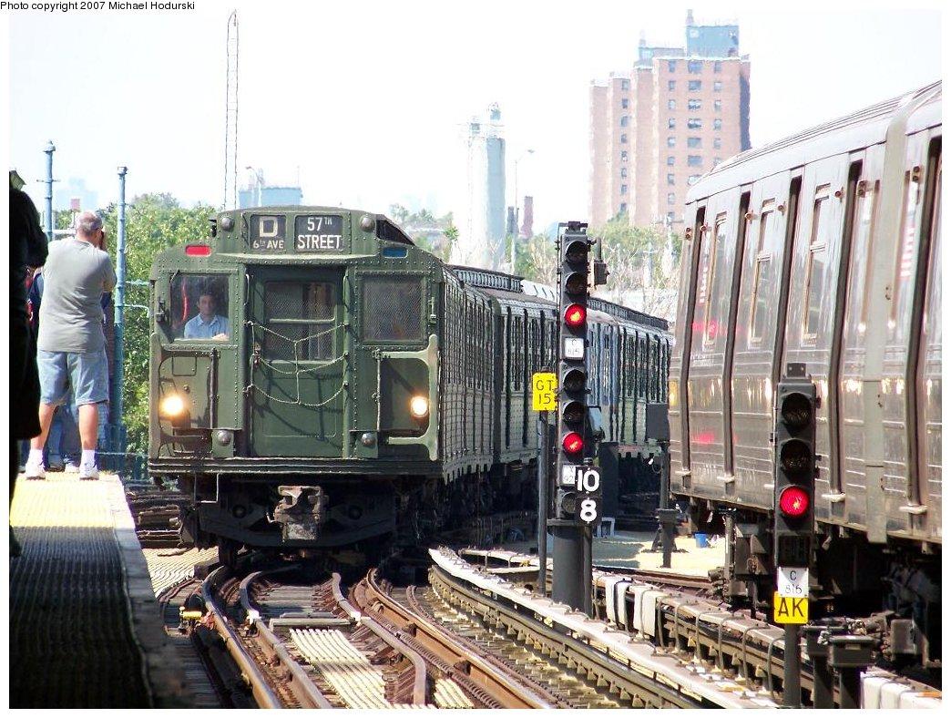 (223k, 1044x788)<br><b>Country:</b> United States<br><b>City:</b> New York<br><b>System:</b> New York City Transit<br><b>Location:</b> Coney Island/Stillwell Avenue<br><b>Route:</b> Fan Trip<br><b>Car:</b> R-9 (Pressed Steel, 1940) 1802 <br><b>Photo by:</b> Michael Hodurski<br><b>Date:</b> 8/12/2007<br><b>Viewed (this week/total):</b> 3 / 2554