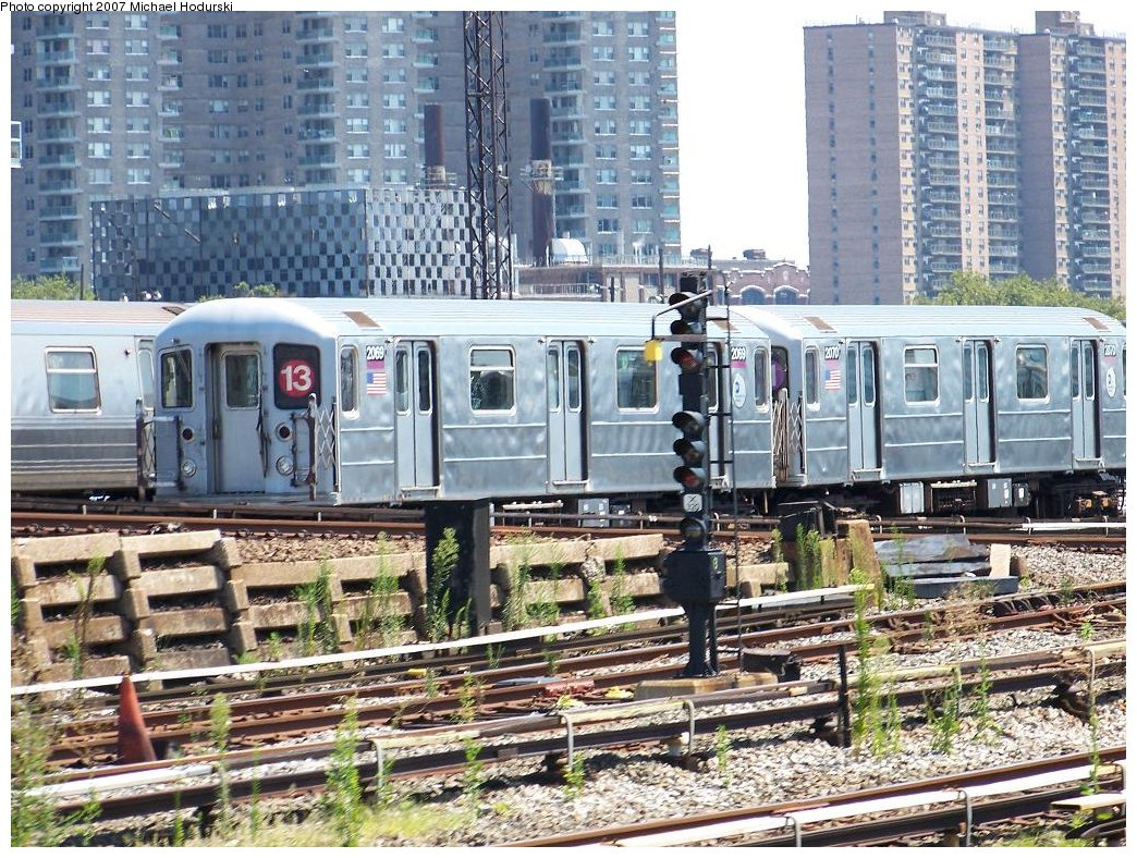 (282k, 1044x788)<br><b>Country:</b> United States<br><b>City:</b> New York<br><b>System:</b> New York City Transit<br><b>Location:</b> Coney Island Yard<br><b>Car:</b> R-62A (Bombardier, 1984-1987) 2069 <br><b>Photo by:</b> Michael Hodurski<br><b>Date:</b> 8/12/2007<br><b>Viewed (this week/total):</b> 1 / 3154