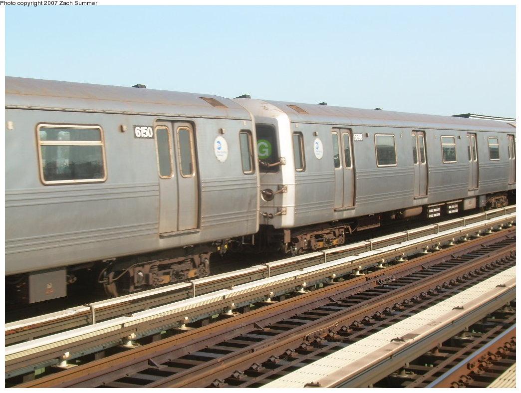 (198k, 1044x788)<br><b>Country:</b> United States<br><b>City:</b> New York<br><b>System:</b> New York City Transit<br><b>Line:</b> BMT Culver Line<br><b>Location:</b> Avenue P<br><b>Route:</b> G<br><b>Car:</b> R-46 (Pullman-Standard, 1974-75) 5998 <br><b>Photo by:</b> Zach Summer<br><b>Date:</b> 8/12/2007<br><b>Viewed (this week/total):</b> 4 / 1966