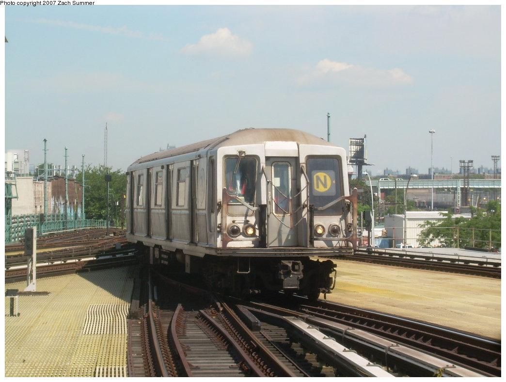 (190k, 1044x788)<br><b>Country:</b> United States<br><b>City:</b> New York<br><b>System:</b> New York City Transit<br><b>Location:</b> Coney Island/Stillwell Avenue<br><b>Route:</b> N<br><b>Car:</b> R-40 (St. Louis, 1968) 4394 <br><b>Photo by:</b> Zach Summer<br><b>Date:</b> 8/12/2007<br><b>Viewed (this week/total):</b> 3 / 2241