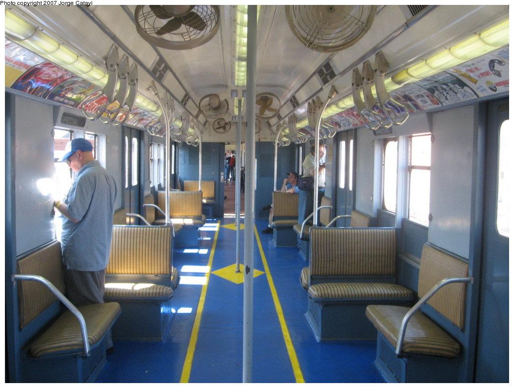 (170k, 1044x788)<br><b>Country:</b> United States<br><b>City:</b> New York<br><b>System:</b> New York City Transit<br><b>Route:</b> Fan Trip<br><b>Car:</b> R-7A (Pullman, 1938) 1575 <br><b>Photo by:</b> Jorge Catayi<br><b>Date:</b> 8/12/2007<br><b>Viewed (this week/total):</b> 3 / 1796