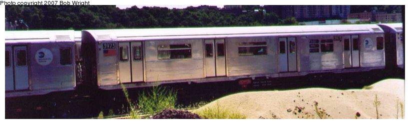 (45k, 820x248)<br><b>Country:</b> United States<br><b>City:</b> New York<br><b>System:</b> New York City Transit<br><b>Location:</b> 207th Street Yard<br><b>Car:</b> R-38 (St. Louis, 1966-1967) 3973 <br><b>Photo by:</b> Bob Wright<br><b>Date:</b> 8/24/2003<br><b>Viewed (this week/total):</b> 1 / 2596