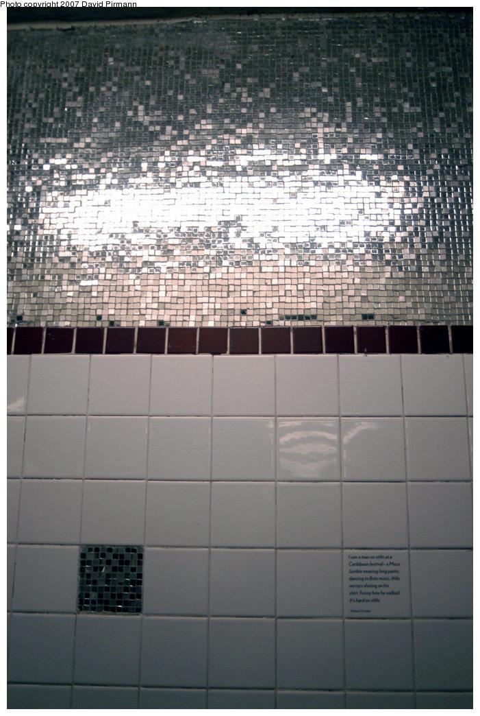 (213k, 701x1044)<br><b>Country:</b> United States<br><b>City:</b> New York<br><b>System:</b> New York City Transit<br><b>Line:</b> IND 8th Avenue Line<br><b>Location:</b> 207th Street<br><b>Photo by:</b> David Pirmann<br><b>Date:</b> 9/10/2007<br><b>Artwork:</b> <i>At the Start... At Long Last</i>, Sheila Levrant de Bretteville, 1999<br><b>Viewed (this week/total):</b> 1 / 2416