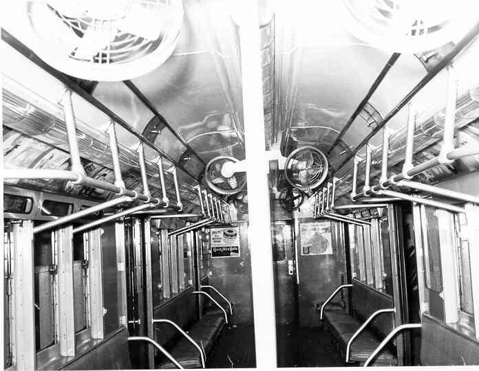 (40k, 696x540)<br><b>Country:</b> United States<br><b>City:</b> New York<br><b>System:</b> New York City Transit<br><b>Car:</b> R-14 (American Car & Foundry, 1949) 5726 <br><b>Photo by:</b> Frank Pfuhler<br><b>Date:</b> 11/11/1954<br><b>Viewed (this week/total):</b> 11 / 5382