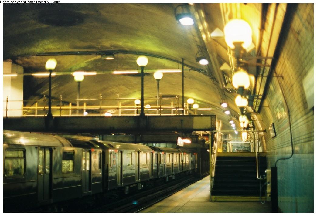 (194k, 1044x712)<br><b>Country:</b> United States<br><b>City:</b> New York<br><b>System:</b> New York City Transit<br><b>Line:</b> IRT West Side Line<br><b>Location:</b> 168th Street<br><b>Photo by:</b> David M. Kelly<br><b>Date:</b> 2007<br><b>Viewed (this week/total):</b> 2 / 2589