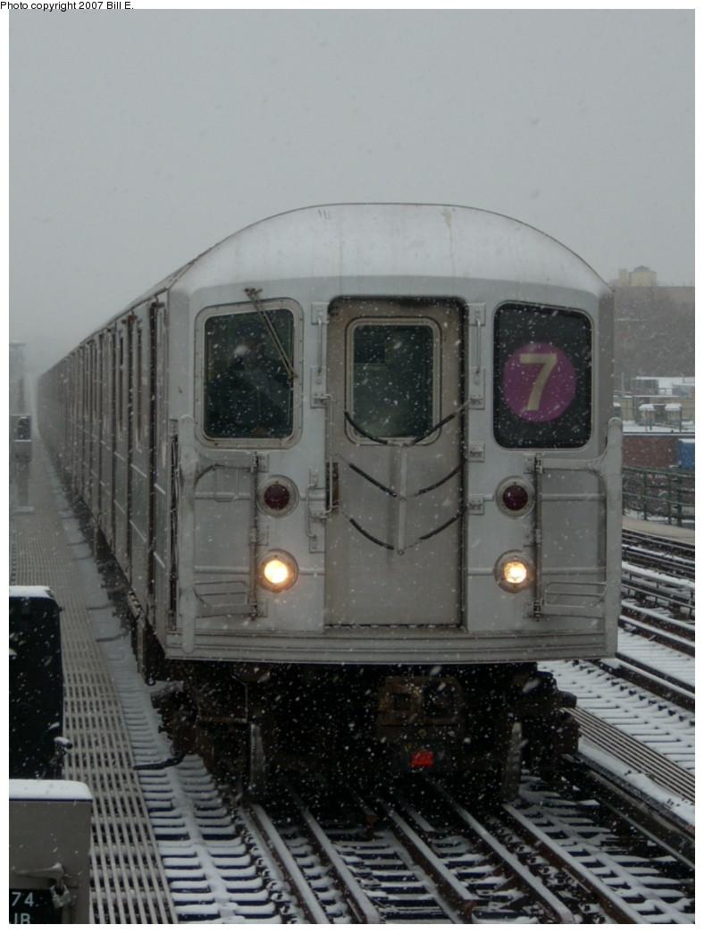 (201k, 788x1044)<br><b>Country:</b> United States<br><b>City:</b> New York<br><b>System:</b> New York City Transit<br><b>Line:</b> IRT Flushing Line<br><b>Location:</b> 74th Street/Broadway<br><b>Route:</b> 7<br><b>Car:</b> R-62A (Bombardier, 1984-1987)  <br><b>Photo by:</b> Bill E.<br><b>Date:</b> 12/2/2007<br><b>Viewed (this week/total):</b> 1 / 1948