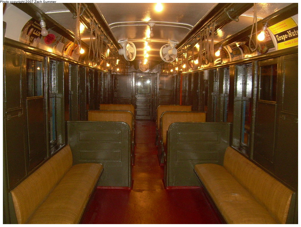 (288k, 1044x788)<br><b>Country:</b> United States<br><b>City:</b> New York<br><b>System:</b> New York City Transit<br><b>Location:</b> New York Transit Museum<br><b>Car:</b> BMT Q 1612 <br><b>Photo by:</b> Zach Summer<br><b>Date:</b> 8/18/2007<br><b>Viewed (this week/total):</b> 7 / 4096