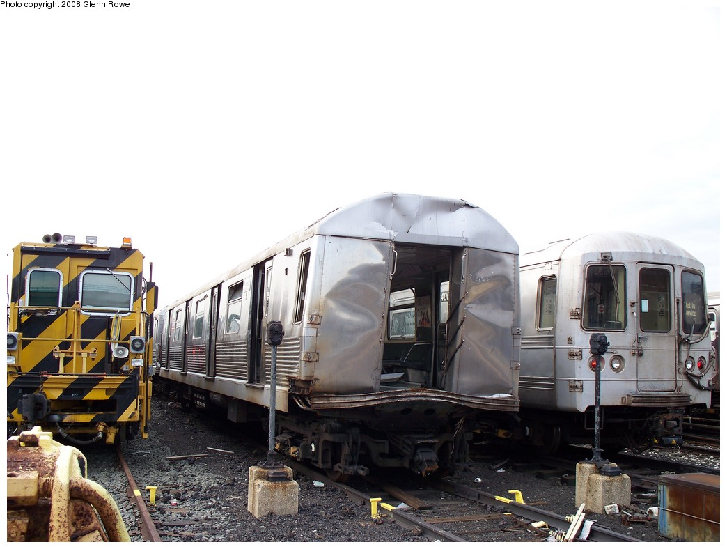 (193k, 1044x788)<br><b>Country:</b> United States<br><b>City:</b> New York<br><b>System:</b> New York City Transit<br><b>Location:</b> 207th Street Yard<br><b>Car:</b> R-42 (St. Louis, 1969-1970) 4731 <br><b>Photo by:</b> Glenn L. Rowe<br><b>Date:</b> 1/17/2008<br><b>Viewed (this week/total):</b> 6 / 7625