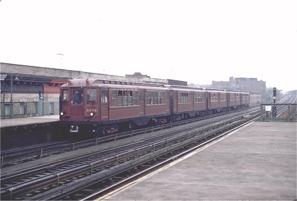 (169k, 1024x693)<br><b>Country:</b> United States<br><b>City:</b> New York<br><b>System:</b> New York City Transit<br><b>Line:</b> BMT West End Line<br><b>Location:</b> 50th Street<br><b>Route:</b> Fan Trip<br><b>Car:</b> Low-V (Museum Train) 5292 <br><b>Photo by:</b> Gerald H. Landau<br><b>Collection of:</b> Joe Testagrose<br><b>Date:</b> 5/12/1979<br><b>Viewed (this week/total):</b> 1 / 2919