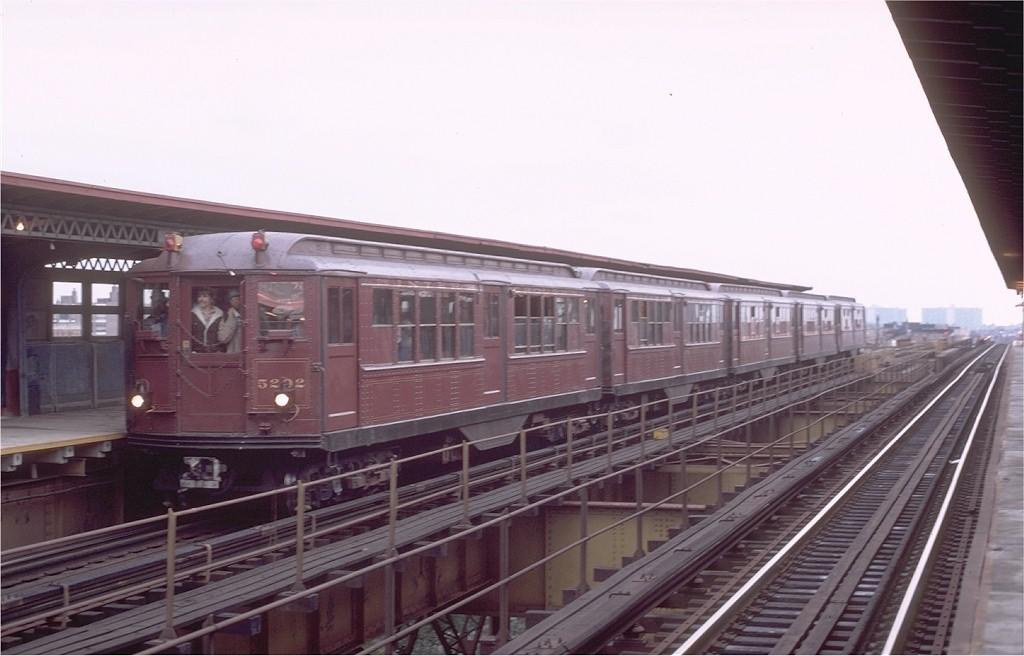 (145k, 1024x656)<br><b>Country:</b> United States<br><b>City:</b> New York<br><b>System:</b> New York City Transit<br><b>Line:</b> IRT Brooklyn Line<br><b>Location:</b> Junius Street<br><b>Route:</b> Fan Trip<br><b>Car:</b> Low-V (Museum Train) 5292 <br><b>Photo by:</b> Joe Testagrose<br><b>Date:</b> 11/3/1979<br><b>Viewed (this week/total):</b> 0 / 4008