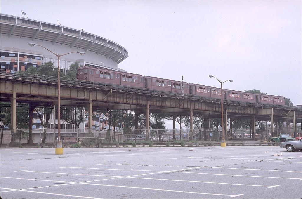 (223k, 1024x676)<br><b>Country:</b> United States<br><b>City:</b> New York<br><b>System:</b> New York City Transit<br><b>Line:</b> IRT Flushing Line<br><b>Location:</b> Willets Point/Mets (fmr. Shea Stadium)<br><b>Route:</b> Fan Trip<br><b>Car:</b> Low-V (Museum Train) 5292 <br><b>Photo by:</b> Doug Grotjahn<br><b>Collection of:</b> Joe Testagrose<br><b>Date:</b> 8/1/1979<br><b>Viewed (this week/total):</b> 0 / 7180