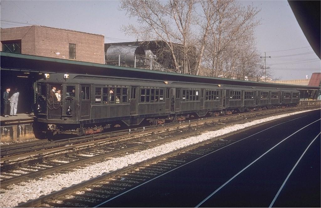 (225k, 1024x663)<br><b>Country:</b> United States<br><b>City:</b> New York<br><b>System:</b> New York City Transit<br><b>Line:</b> BMT Sea Beach Line<br><b>Location:</b> 8th Avenue<br><b>Route:</b> Fan Trip<br><b>Car:</b> Low-V (Museum Train) 5443 <br><b>Photo by:</b> Willie Rosenberg<br><b>Collection of:</b> Joe Testagrose<br><b>Date:</b> 4/6/1968<br><b>Viewed (this week/total):</b> 0 / 3591