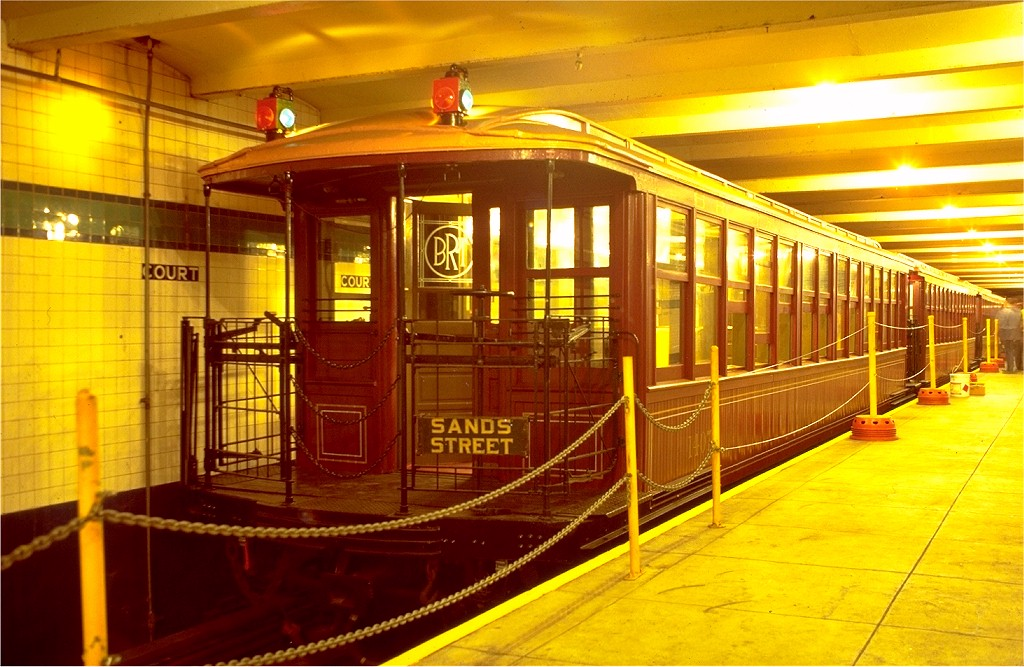 (206k, 1024x667)<br><b>Country:</b> United States<br><b>City:</b> New York<br><b>System:</b> New York City Transit<br><b>Location:</b> New York Transit Museum<br><b>Car:</b> BMT Elevated Gate Car 1407 <br><b>Photo by:</b> Joe Testagrose<br><b>Date:</b> 9/14/1979<br><b>Viewed (this week/total):</b> 0 / 8383