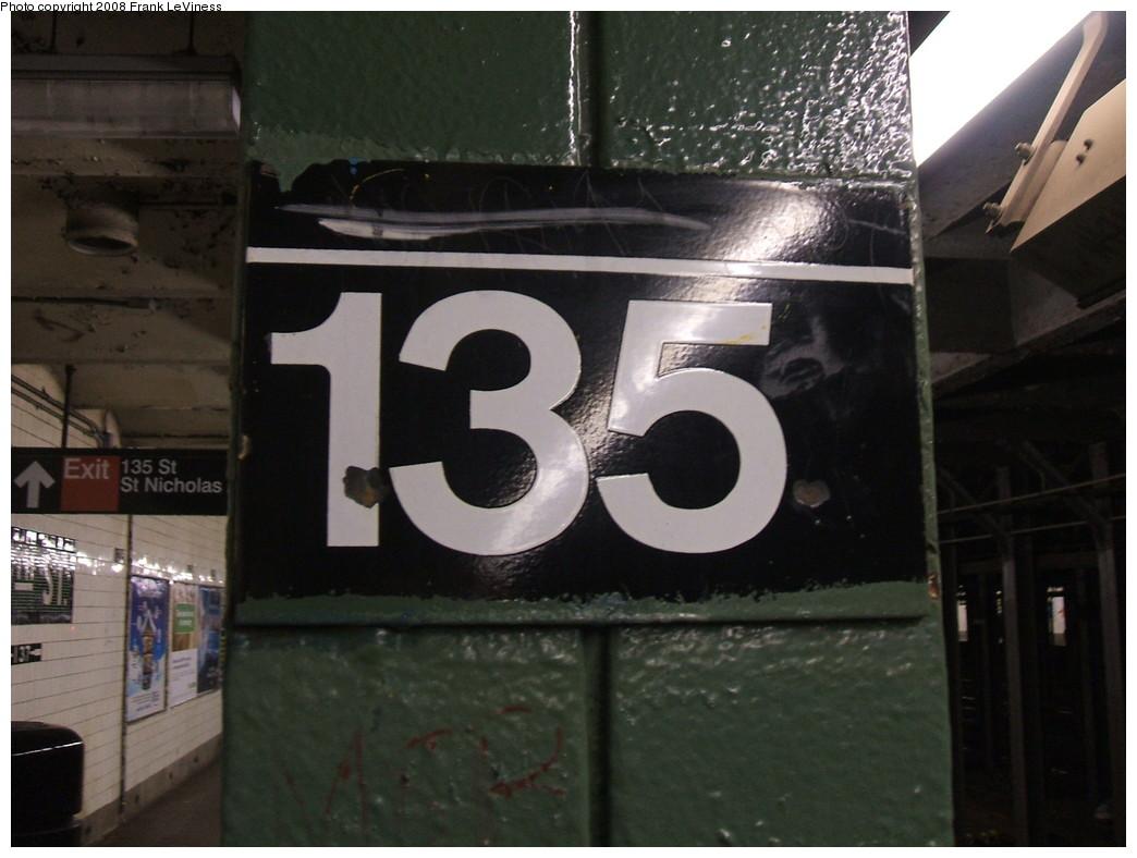 (185k, 1044x788)<br><b>Country:</b> United States<br><b>City:</b> New York<br><b>System:</b> New York City Transit<br><b>Line:</b> IND 8th Avenue Line<br><b>Location:</b> 135th Street<br><b>Photo by:</b> Frank LeViness<br><b>Date:</b> 2/25/2007<br><b>Viewed (this week/total):</b> 4 / 2123