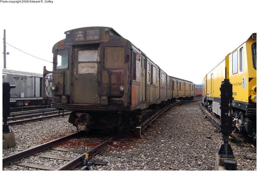 (282k, 1044x699)<br><b>Country:</b> United States<br><b>City:</b> New York<br><b>System:</b> New York City Transit<br><b>Location:</b> Coney Island Yard<br><b>Car:</b> R-6-3 (American Car & Foundry, 1935) 923 <br><b>Photo by:</b> Edward R. Coffey<br><b>Date:</b> 4/12/2008<br><b>Viewed (this week/total):</b> 7 / 3690