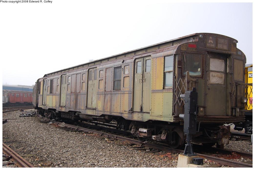 (266k, 1044x699)<br><b>Country:</b> United States<br><b>City:</b> New York<br><b>System:</b> New York City Transit<br><b>Location:</b> Coney Island Yard<br><b>Car:</b> R-6-3 (American Car & Foundry, 1935) 923 <br><b>Photo by:</b> Edward R. Coffey<br><b>Date:</b> 4/12/2008<br><b>Viewed (this week/total):</b> 8 / 3903