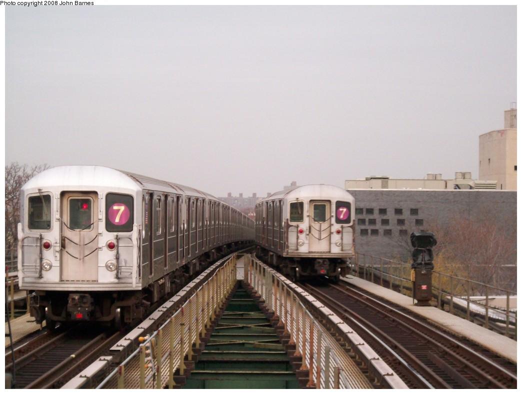 (178k, 1044x788)<br><b>Country:</b> United States<br><b>City:</b> New York<br><b>System:</b> New York City Transit<br><b>Line:</b> IRT Flushing Line<br><b>Location:</b> Junction Boulevard<br><b>Route:</b> 7<br><b>Car:</b> R-62A (Bombardier, 1984-1987) 1791 <br><b>Photo by:</b> John Barnes<br><b>Date:</b> 4/7/2008<br><b>Viewed (this week/total):</b> 2 / 2001