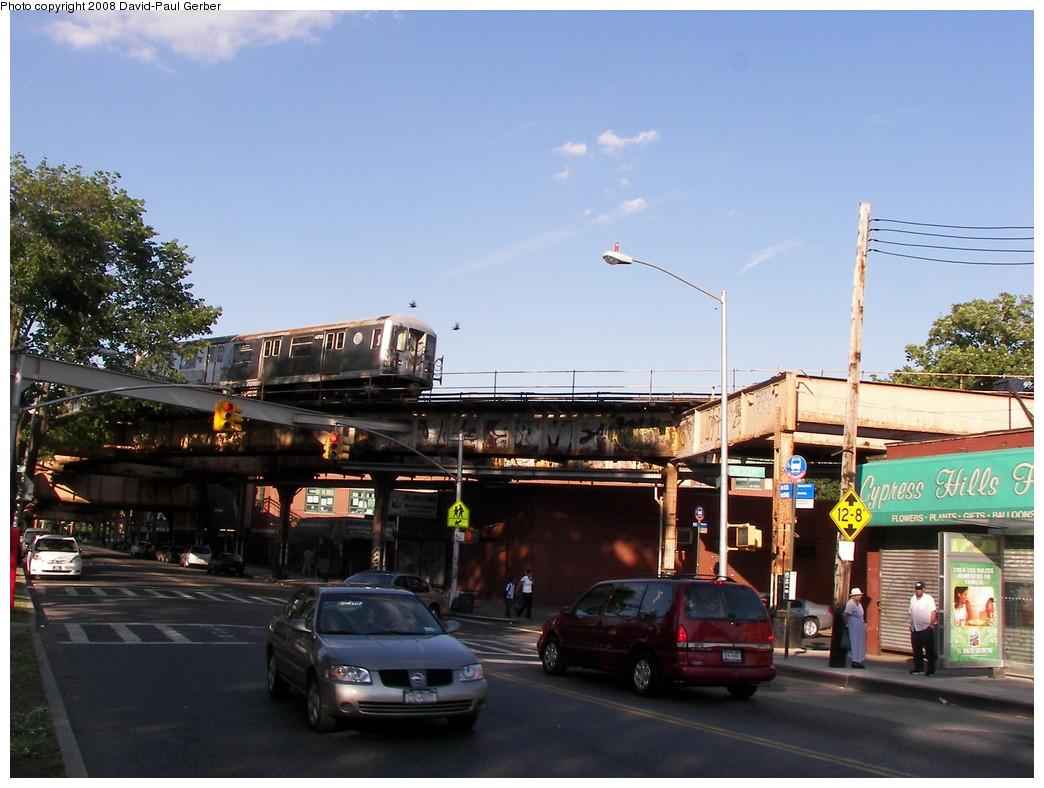 (269k, 1044x788)<br><b>Country:</b> United States<br><b>City:</b> New York<br><b>System:</b> New York City Transit<br><b>Line:</b> BMT Nassau Street-Jamaica Line<br><b>Location:</b> Cypress Hills<br><b>Route:</b> J<br><b>Car:</b> R-42 (St. Louis, 1969-1970) 4713 <br><b>Photo by:</b> David-Paul Gerber<br><b>Date:</b> 6/11/2008<br><b>Viewed (this week/total):</b> 0 / 2549