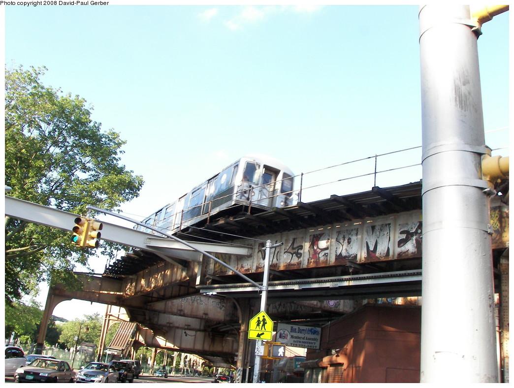 (284k, 1044x788)<br><b>Country:</b> United States<br><b>City:</b> New York<br><b>System:</b> New York City Transit<br><b>Line:</b> BMT Nassau Street-Jamaica Line<br><b>Location:</b> Cypress Hills<br><b>Car:</b> R-42 (St. Louis, 1969-1970)  <br><b>Photo by:</b> David-Paul Gerber<br><b>Date:</b> 6/11/2008<br><b>Viewed (this week/total):</b> 1 / 3003